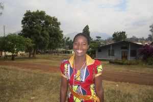 Malawi woman smiling