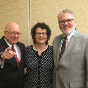 Dave Westol with Circle of Sisterhood Founder Ginny Carroll and Pete Smithhisler